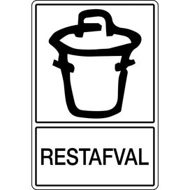 Restafval (Sticker)