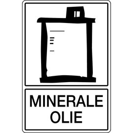 Minerale Olie (Sticker)