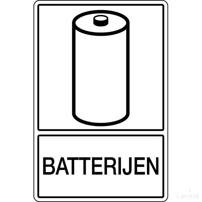 Batterijen (Sticker)